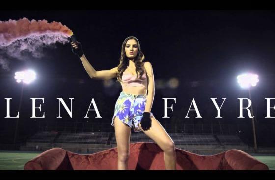 "Lena Fayre Releases ""Love Burning Alive"" Teaser"
